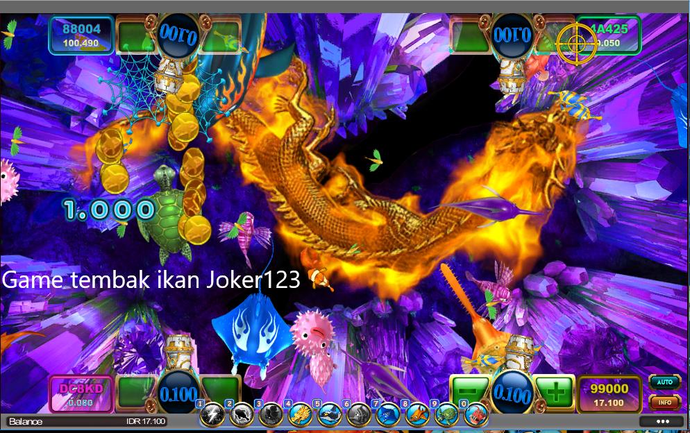 Bermain Tembak Ikan Joker123